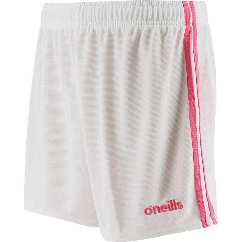 Mourne 2 Stripe Shorts White / Pink