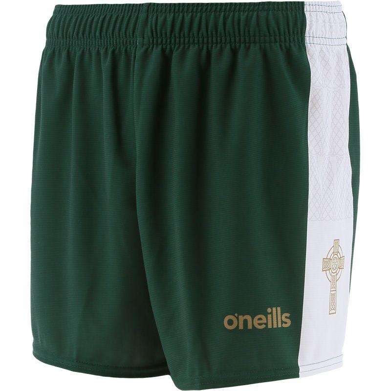 Mourne Celtic Cross Shorts Green