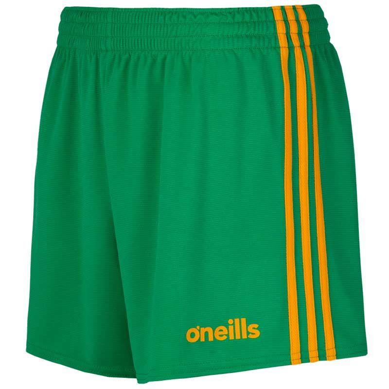 Kids' Mourne Shorts Green / Amber