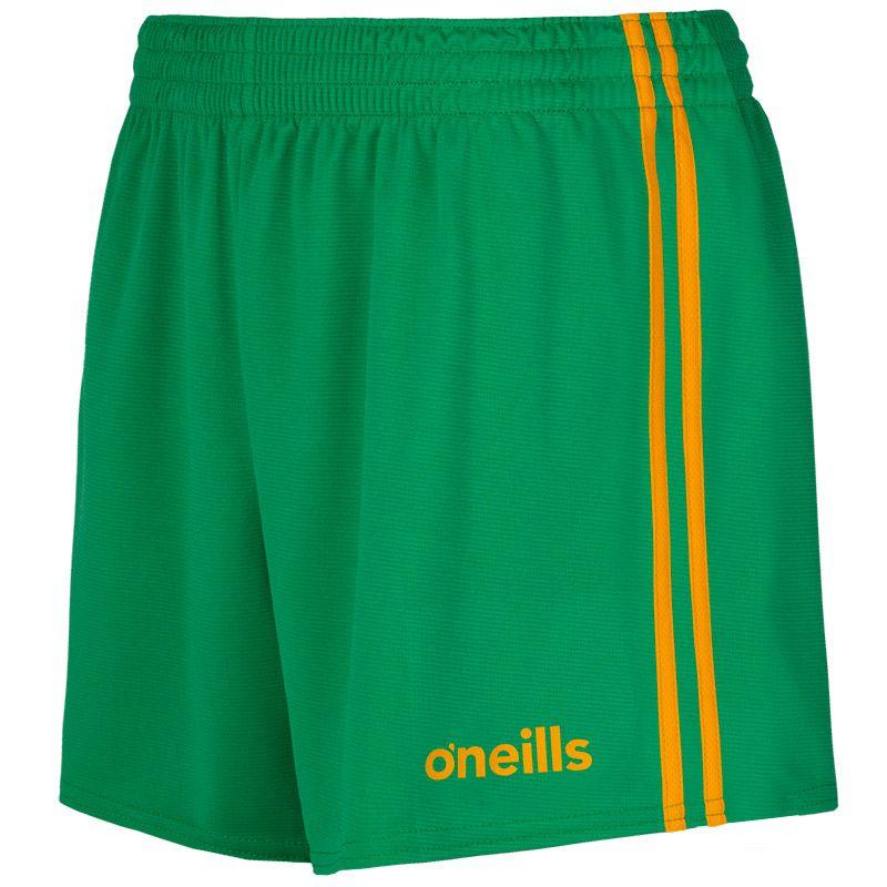 Mourne 2 Stripe Shorts Green / Amber