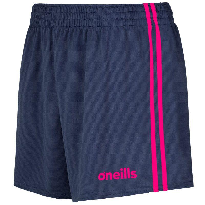 Mourne 2 Stripe Shorts Marine / Pink