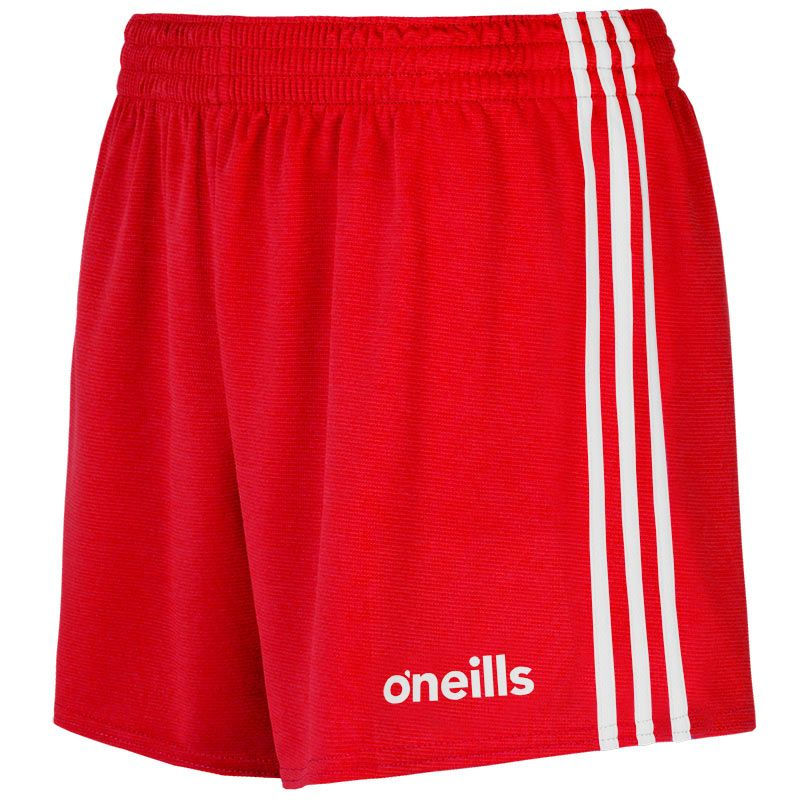 Kids' Mourne Shorts Red / White