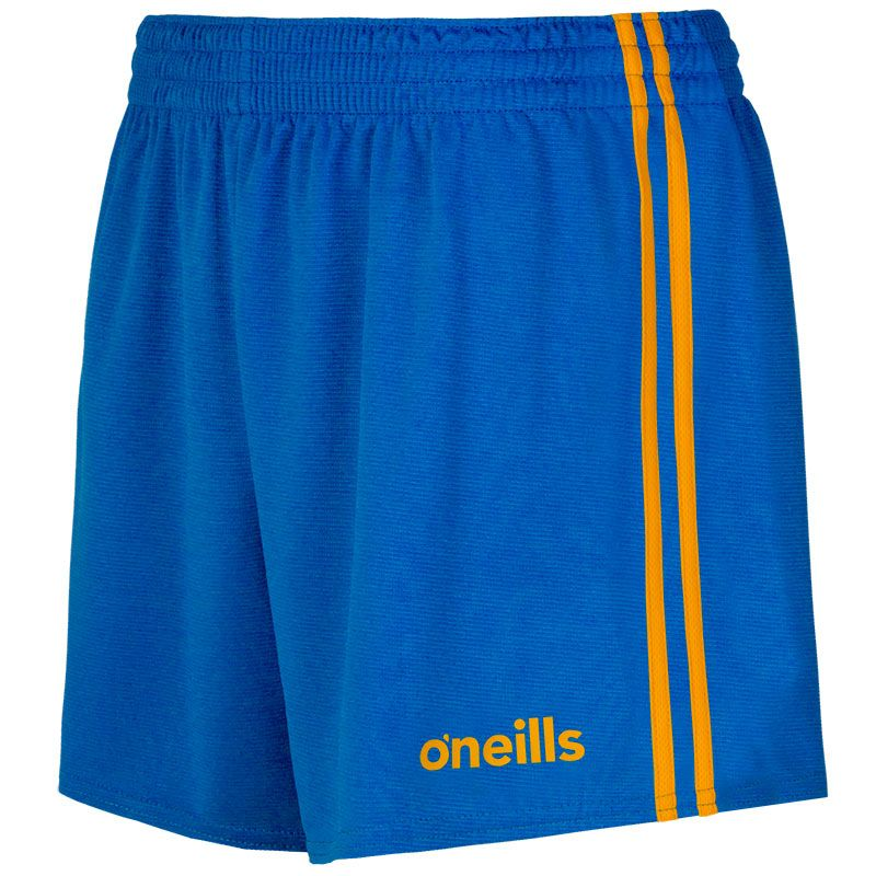 Mourne 2 Stripe Shorts Royal / Amber