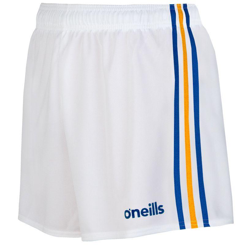 Kids' Mourne Shorts White / Royal / Amber