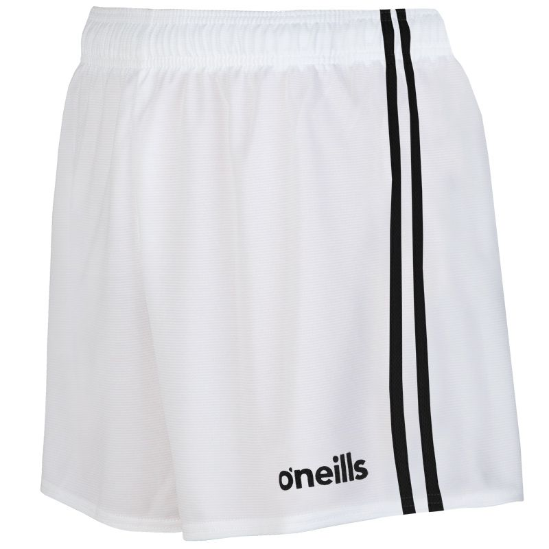 Mourne 2 Stripe Shorts White / Black