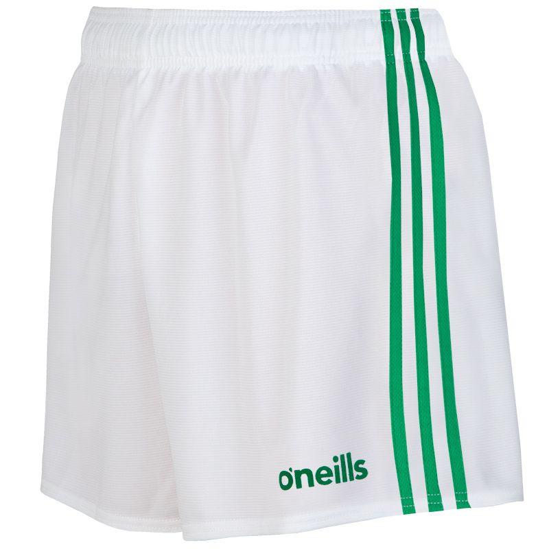 Kids' Mourne Shorts White / Green