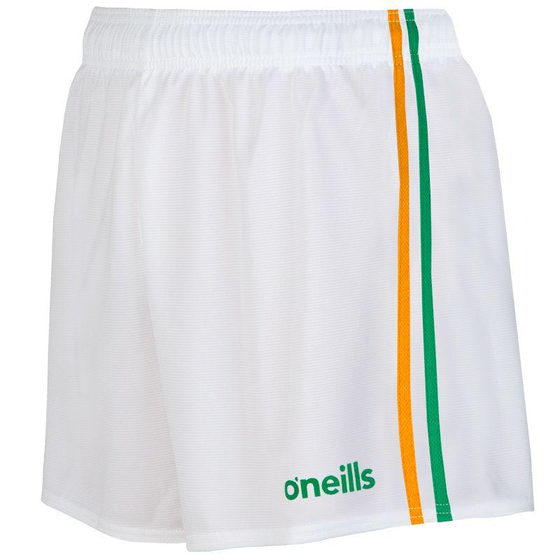 Mourne 2 Stripe Shorts White / Green / Amber