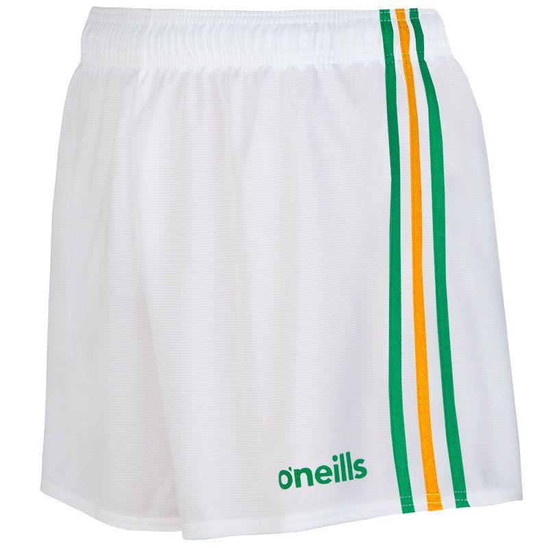 Mourne Shorts White / Green / Amber