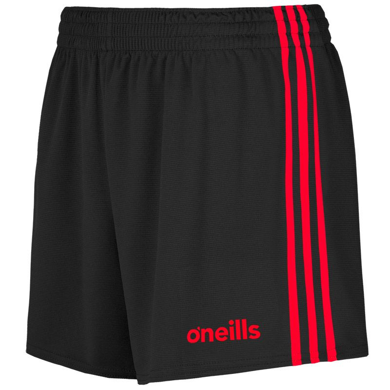 Mourne Shorts Black / Red