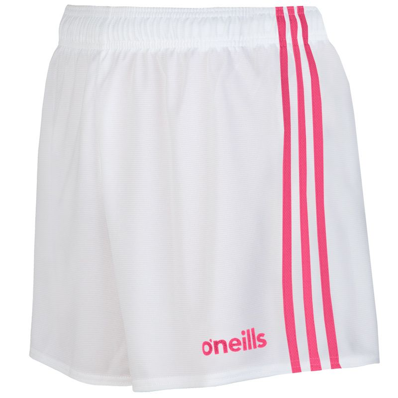 Mourne Shorts White / Pink