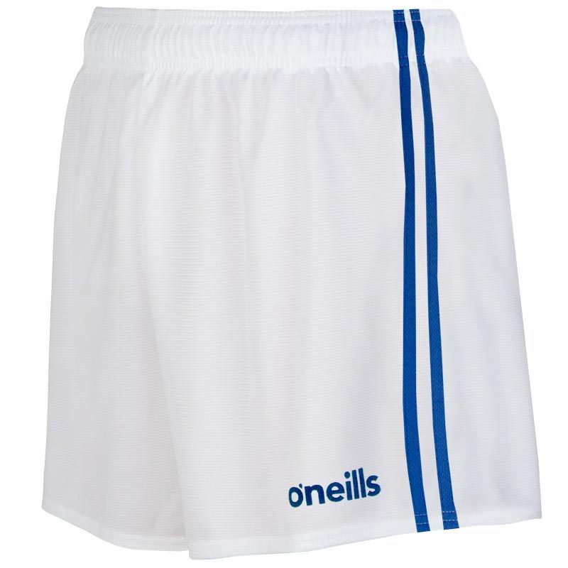 Round Towers GAA Kids' Mourne Shorts (White / Royal)