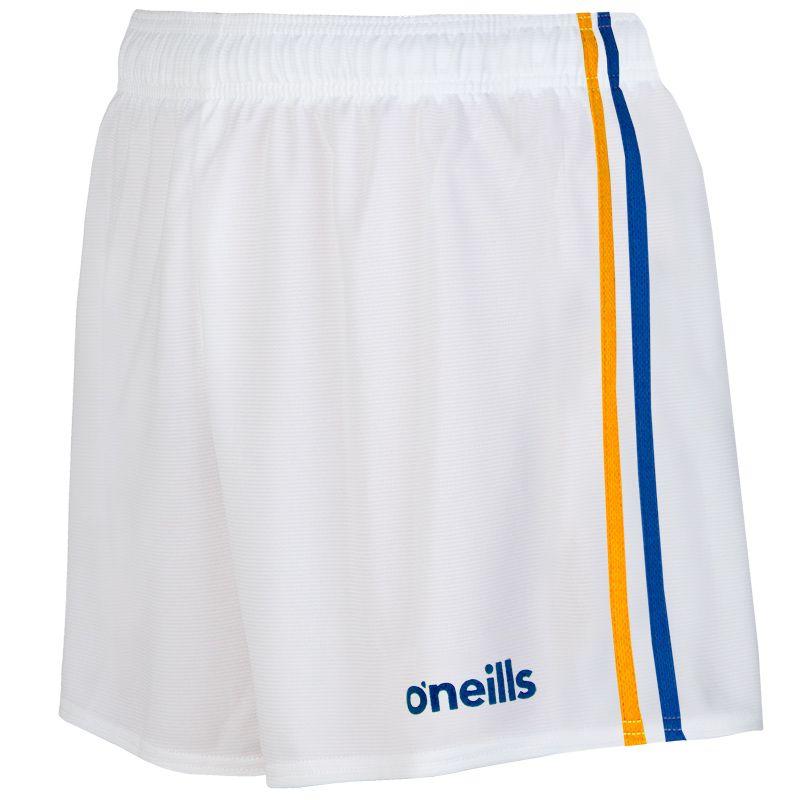 Mourne 2 Stripe Shorts White / Royal / Amber