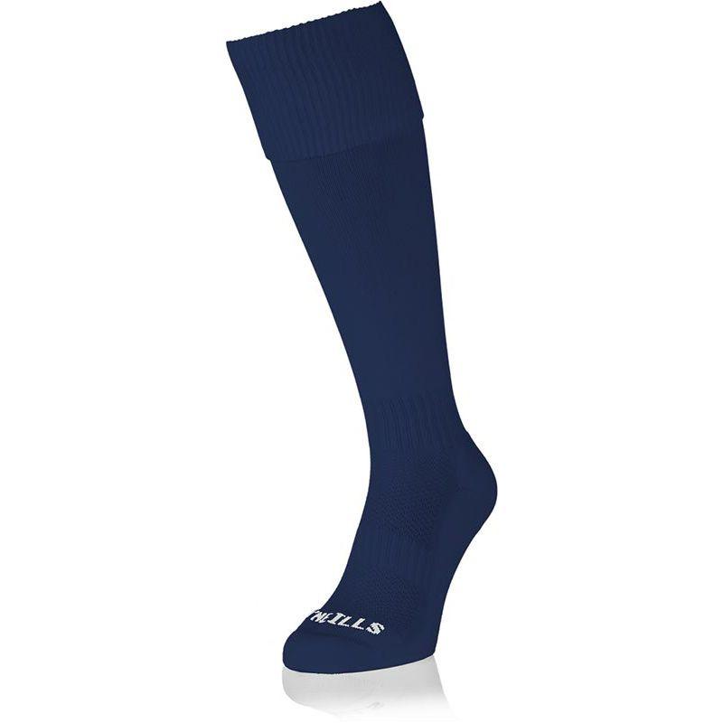 Kids' Premium Socks Plain Navy