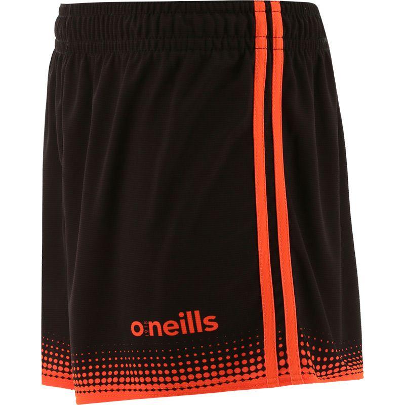 Nelson Shorts Black / Orange