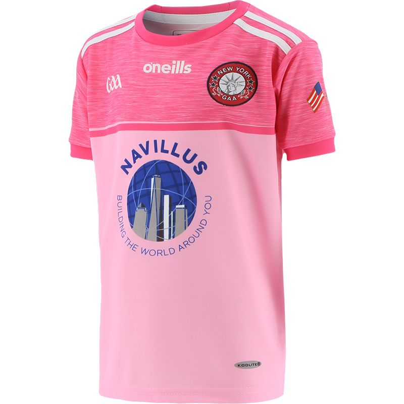 New York GAA Kids' Pink Jersey