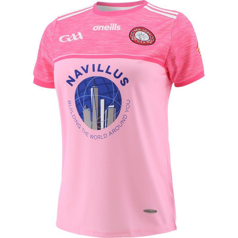 New York GAA Pink Women's Jersey
