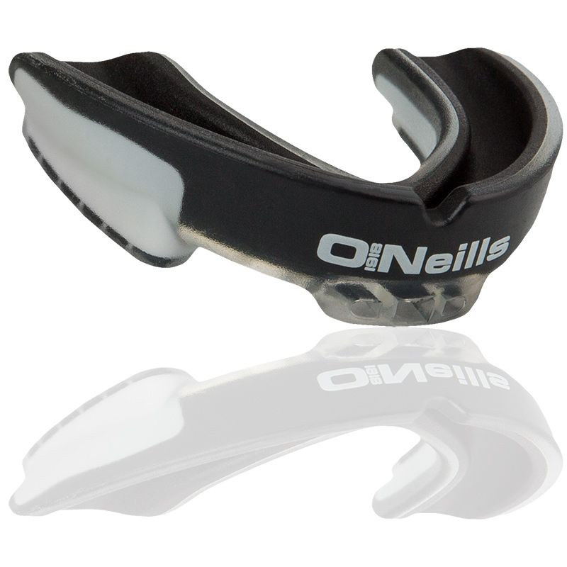 Gel Protector Mouth Guard Black / White