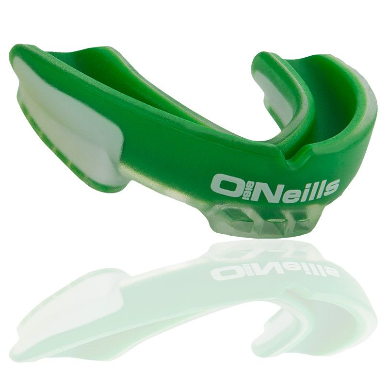Gel Protector Mouth Guard Green / White