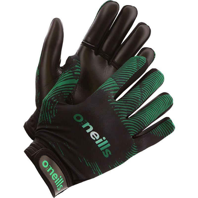 Oakland GAA Kids' Gloves Black / Green