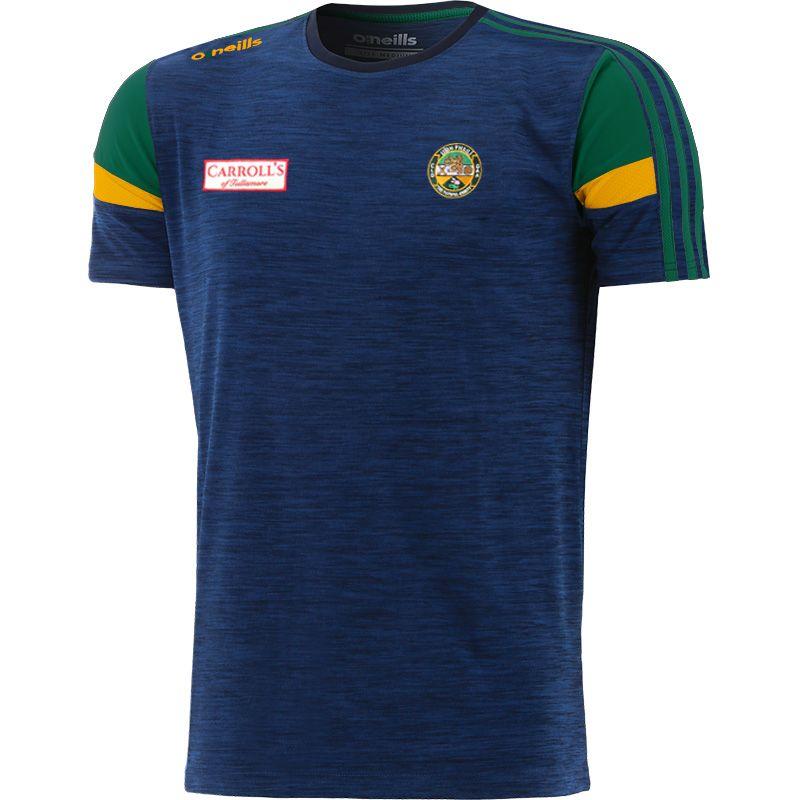 Offaly GAA Kids' Portland T-Shirt Marine / Bottle / Amber