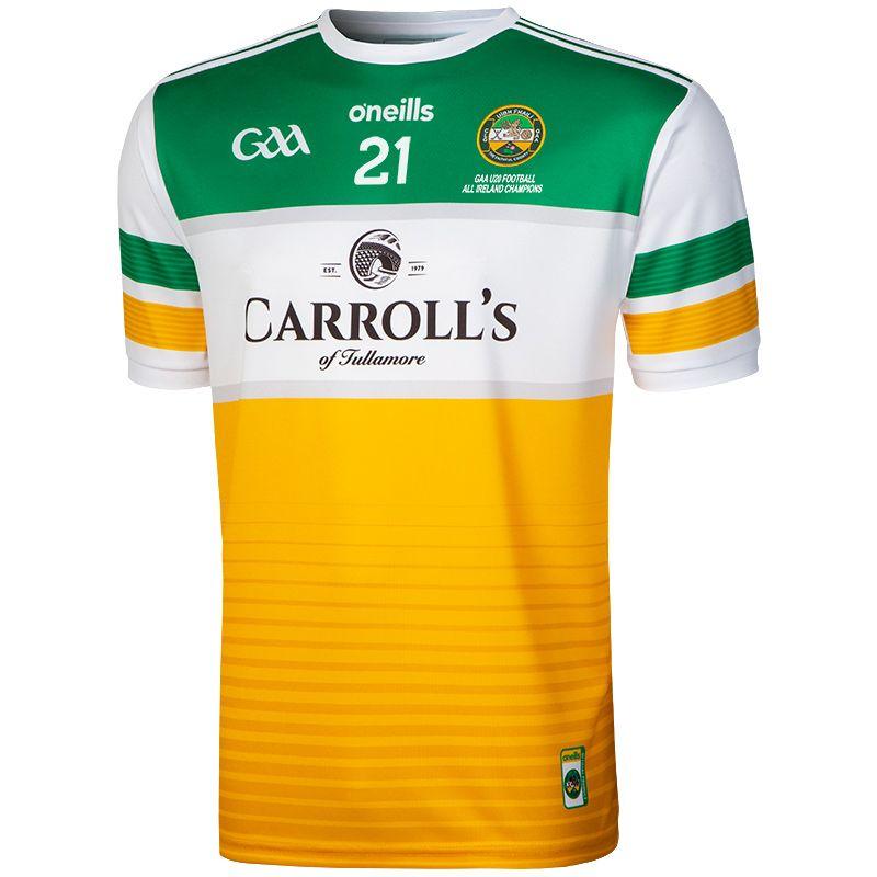 Offaly GAA All Ireland U20 Football Champions 2021 2-Stripe Jersey