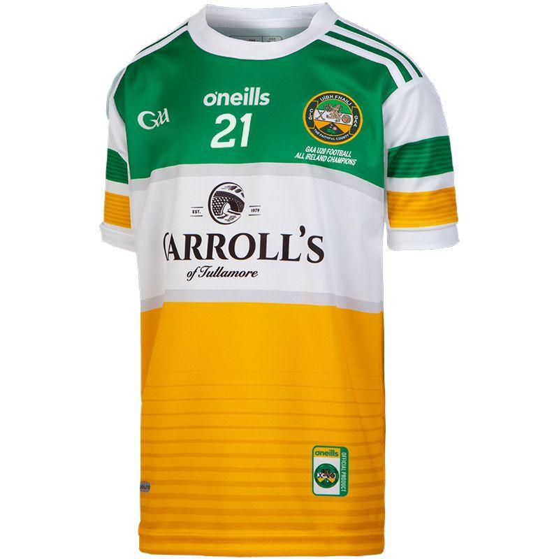 Offaly GAA Kids' All Ireland U20 Football Champions 2021 Jersey