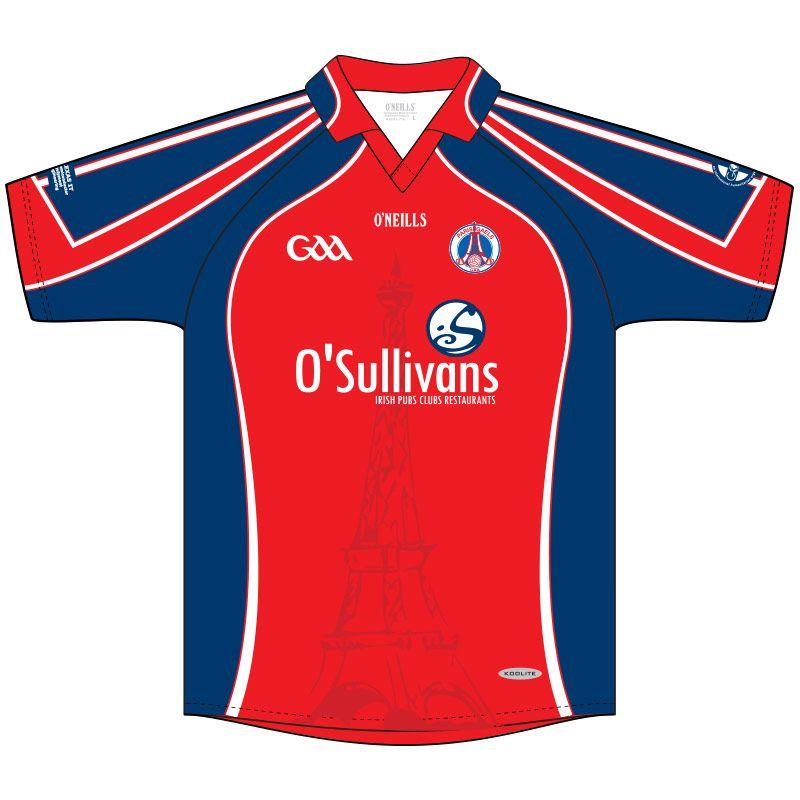 Paris Gaels GAA Keepers Jersey (Red)