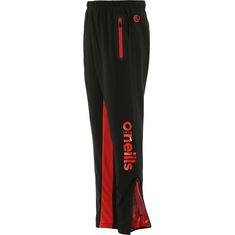 Kids' Philly Woven Bottoms Black / Red
