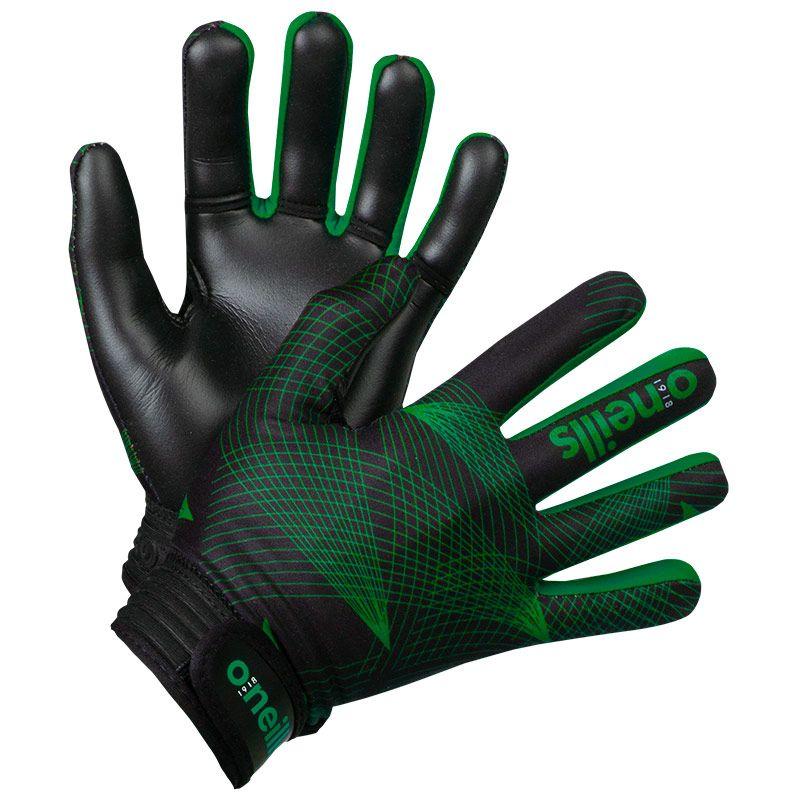 Kids' Phoenix GAA Gloves Black / Green