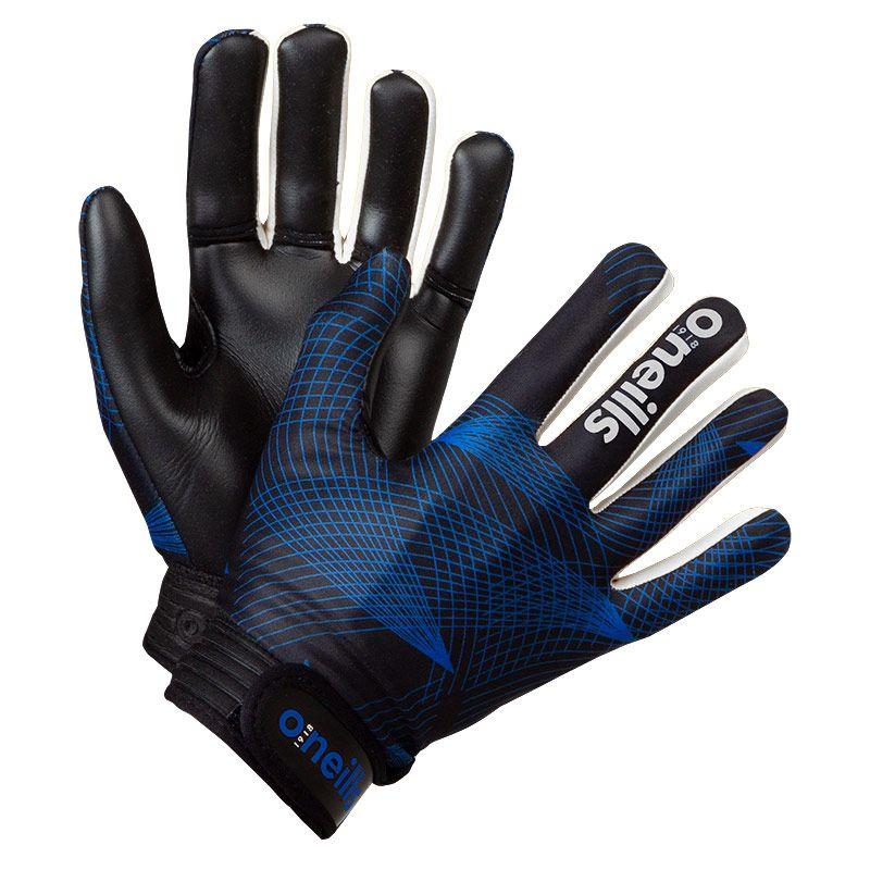 Kids' Phoenix GAA Gloves Black / Royal / White