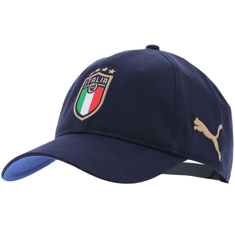 Puma FIGC Italy Team Cap Peacoat / Blue | oneills.com - US