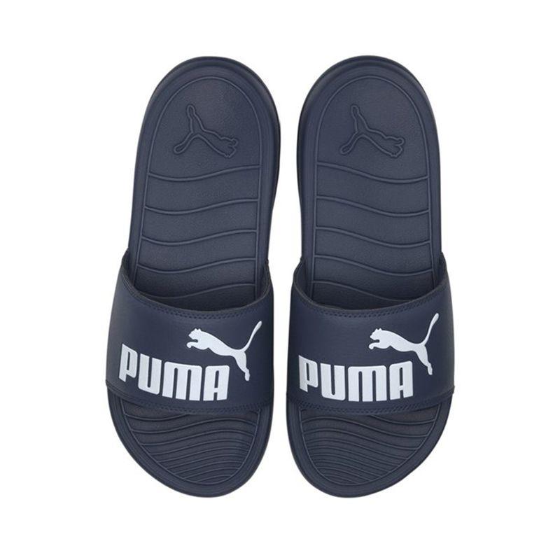 Puma Men's Popcat 20 Sliders Denim / White