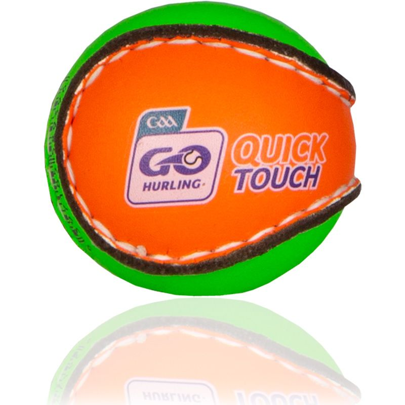 Quick Touch Hurling Ball Green / Orange