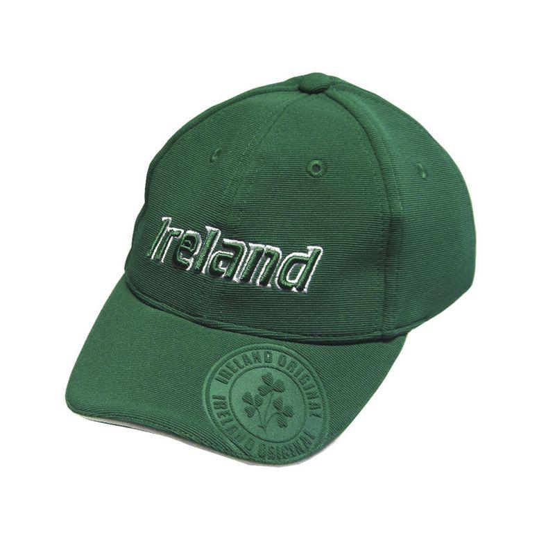 Lansdowne Ireland Kids' Badge Cap Green