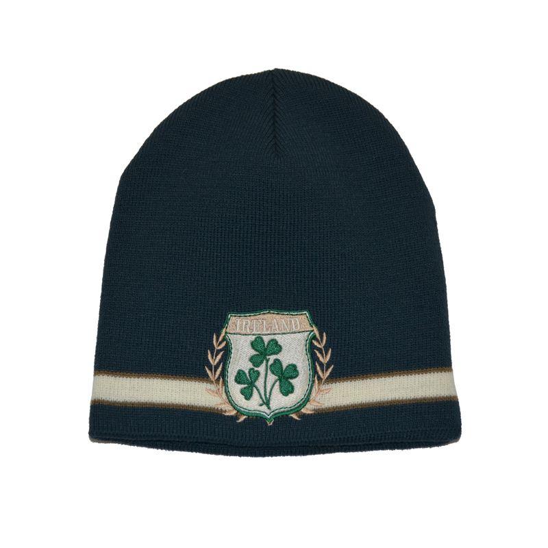 Lansdowne Ireland Shamrock Crest Knit Hat Bottle