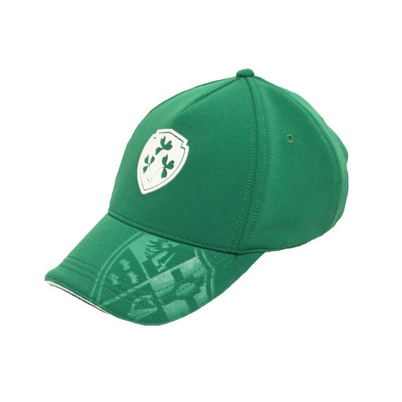 Lansdowne Ireland Crest Performance Cap Green