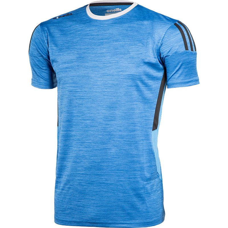Men's Raven T-Shirt Blue / Dark Grey / Silver