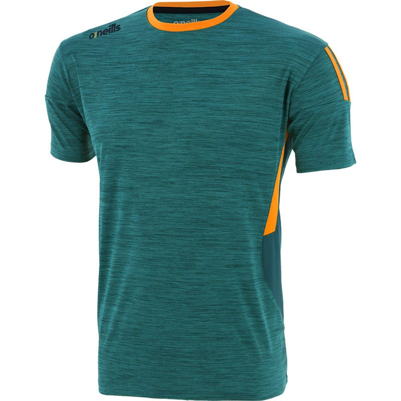 Kids' Raven T-Shirt Green / Orange / Marine