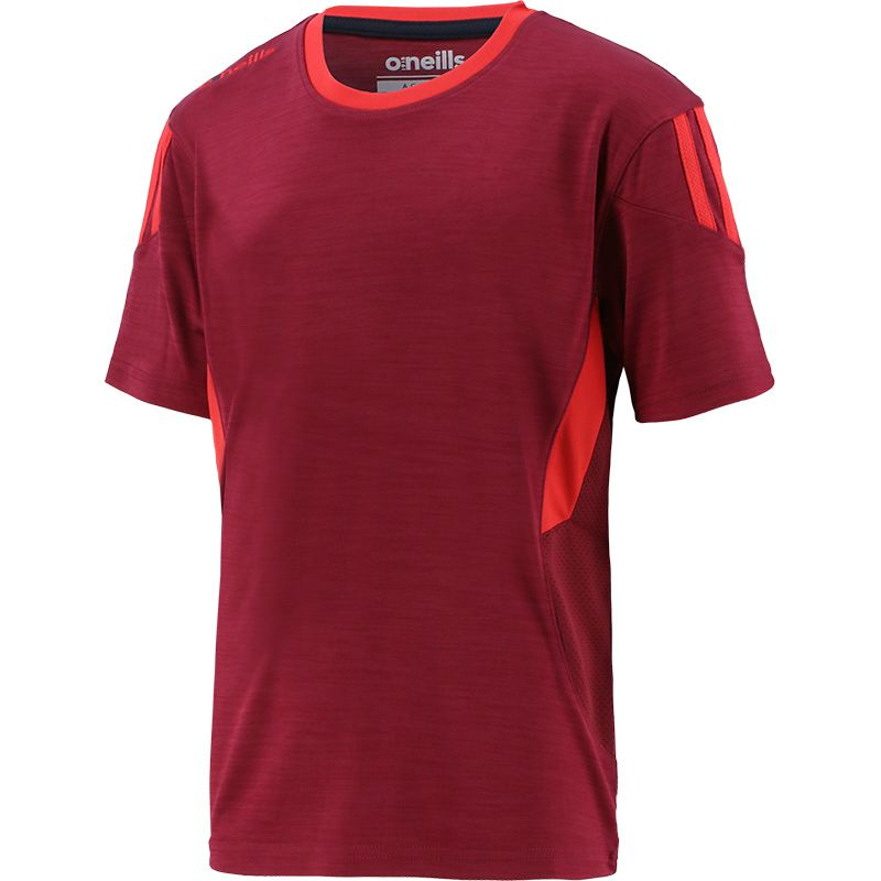 Kids' Raven T-Shirt Maroon / Red / Marine