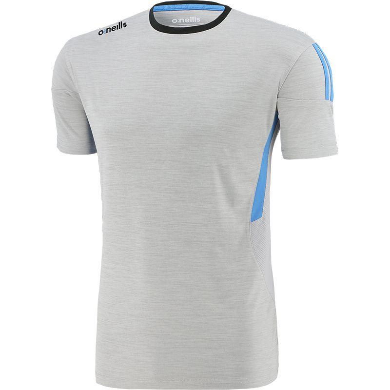Men's Raven T-Shirt Silver / Blue / Dark Grey