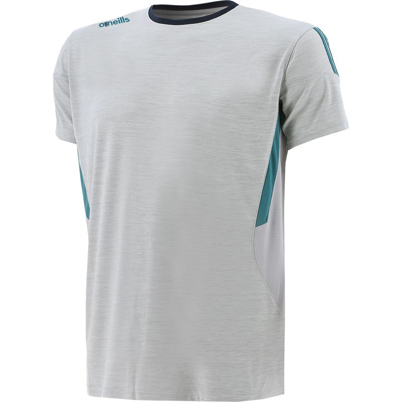 Men's Raven T-Shirt Silver / Green / Marine