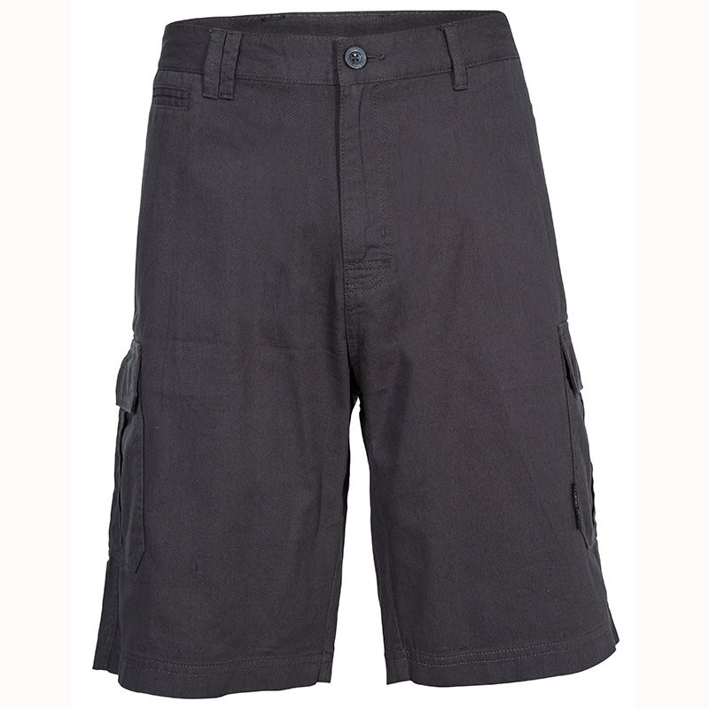Dark Grey Trespass men's walking cargo shorts with pockets from O'Neills.