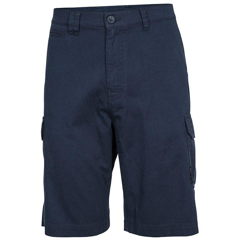 Navy Trespass men's outdoor walking shorts with side pockets form O'Neills.