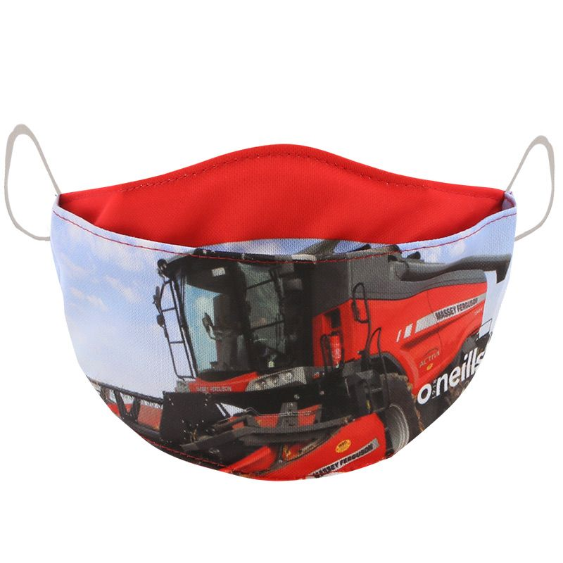 Make No Masstake Ploughing Championships Kids' Reusable Face Mask 2020