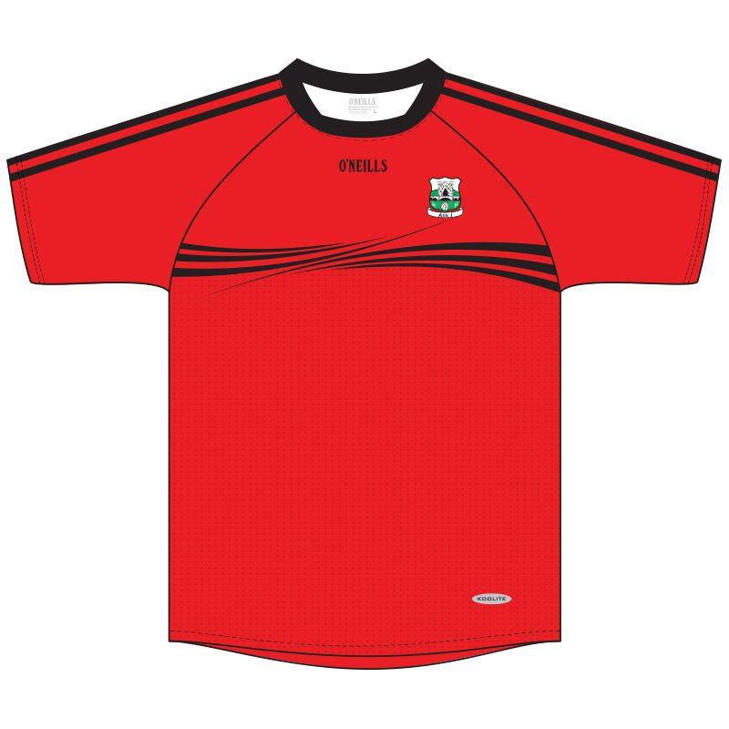 Athy GAA Short Sleeve Training Top (Red)
