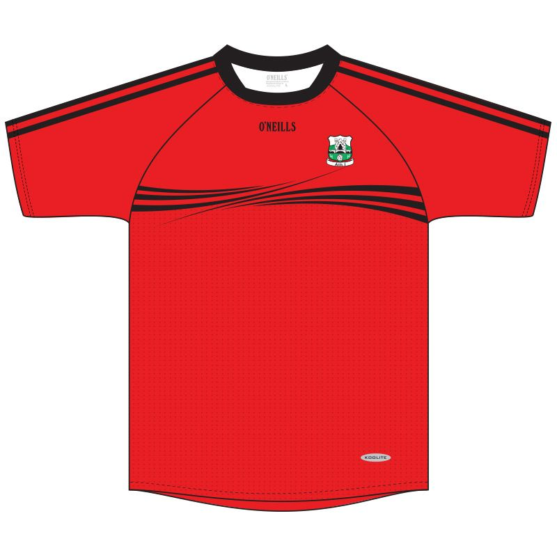 Athy GAA Kids' Short Sleeve Training Top (Red)