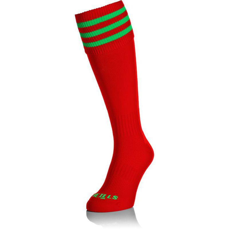 Kids' Premium Socks Bars Red / Green