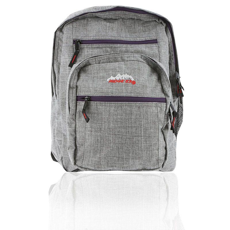 Ridge 53 College Back Pack Grey