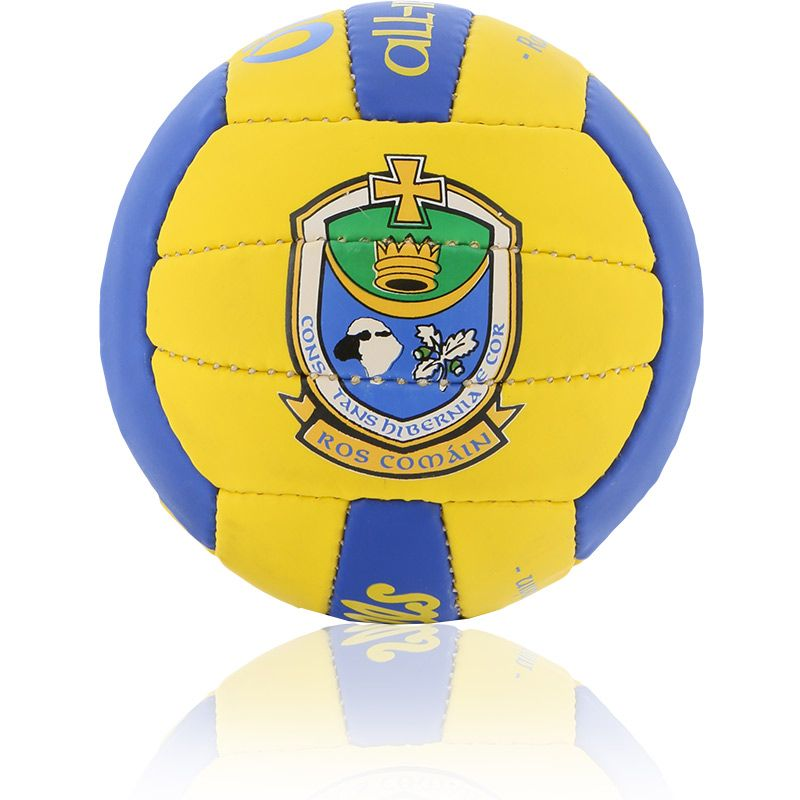 Roscommon GAA All Ireland Mini Gaelic Football Amber / Royal