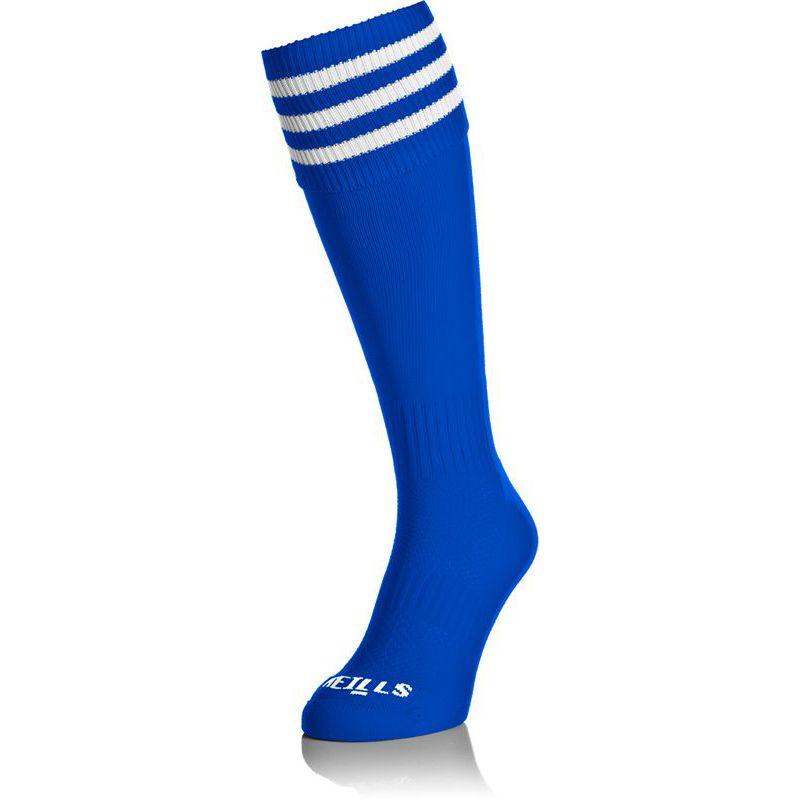 Premium Socks Bars Royal / White